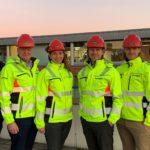 Foto av seks personer - Betonmasts nye konsernledelse fra 1. februar 2020