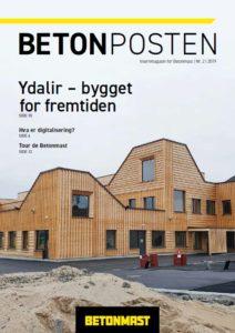 Forside Betonposten nr 2 2019 - sommer
