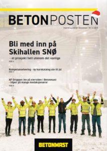 Forside Betonposten nr 4 2019 - jul