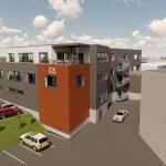 Illustrasjon av kontorbygg