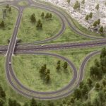 Oversiktsbilde av trafikkmaskin